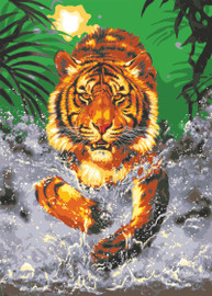 Water Tiger Canvas only By Grafitec