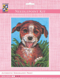 Happy Pup  Tapestry Kit By Grafitec