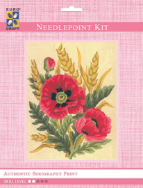 Poppies and Wheat  Tapestry Kit By Grafitec
