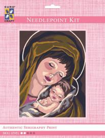 Madonna & Child I  Tapestry Kit By Grafitec