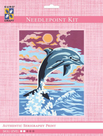Leaping Dolphin  Tapestry Kit By Grafitec