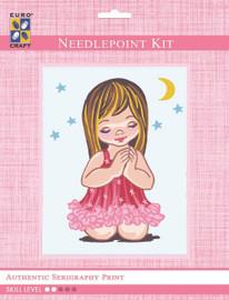 Angel Girl Moon & Stars  Tapestry Kit By Grafitec