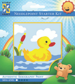 Paddling Duck  Tapestry Kit By Grafitec