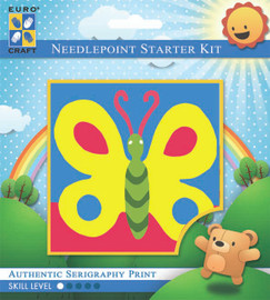 Bold Butterfly  Tapestry Kit By Grafitec