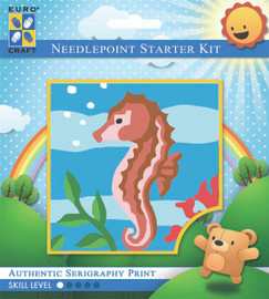 Frolicking Seahorse  Tapestry Kit By Grafitec