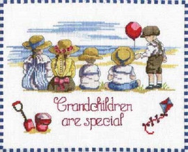 Grandchildren are Special Cross Stitch Kit - All Our Yesterdays