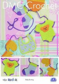 Baby Bunting Crochet Pattern by DMC