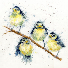 Sweet Tweet Counted Cross Stitch Kit By Bothy Threads