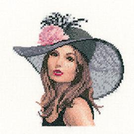 Miniature Rachel Cross Stitch Kit By Heritage Crafts