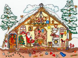 Cut Thru Christmas Bothy Cross Stitch Kit By Bothy Threads