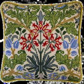 William Morris: Hyacinth 12HPI Full Colour Printed Tapestry Kit
