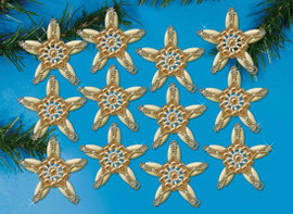 Elegance Star Ornaments Craft Kits by Design Works