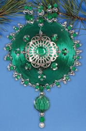 Emerald Heirloom Ornament Craft Kits by Design Works