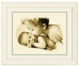 Brotherly Love Cross Stitch Kit By Vervaco