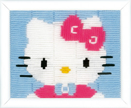 Hello Kitty Longstitch Cushion Kit By Vervaco