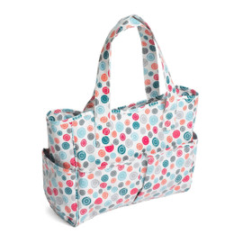 Exclusive Print Collection: Craft Bag: Matt PVC: Scattered Buttons