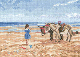 Sharing the Treat Cross Stitch Kit Leslie Stone
