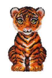 Roary the Tiger Latch Hook Rug  By Grafitec