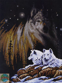 Northern Lights Cross Stitch Kit By Janlynn