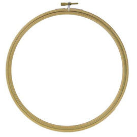 Wooden Embroidery Bamboo Hoop Size 10 inch