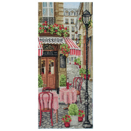 French City Scene Cross Stitch Kit By Anchor