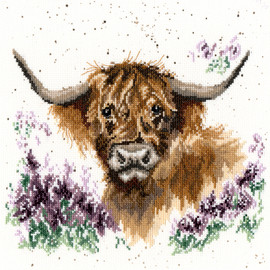 Highland Heathers Cross Stitch Kit By Bothy Threads