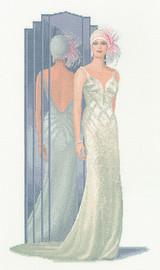 Lilly Elegant Ladies Cross Stitch Stitch By Heritage