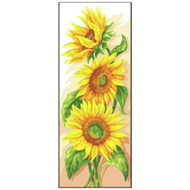 Sunflowers Canvas By Royal Paris