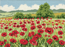 Poppy Field Tapestry Kit By Anchor