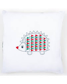 Embroidery: Cushion: Hedgehog Kit By Vervaco