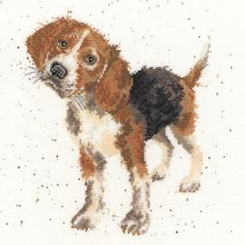 Beagle Cross Stitch Kit By Bothy Threads