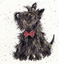 Scottie Dog Cross Stitch Kit By Bothy Threads