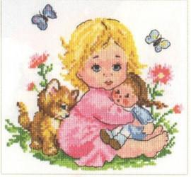 Alionka Cross Stitch Kit by Alisa