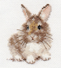 Rabbit Cross Stitch Kit by Alisa