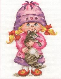 Dashenka Cross Stitch Kit by Alisa