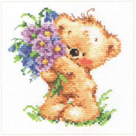 Congratulations Cross Stitch Kit by Alisa
