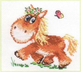 Little horse Cross Stitch Kit by Alisa