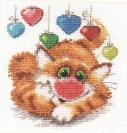 Happy Birthday Cross Stitch Kit by Alisa
