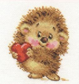 My Love Cross Stitch Kit by Alisa