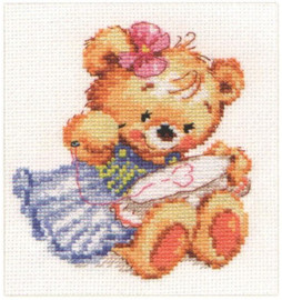 I love to embroider Cross Stitch Kit by Alisa