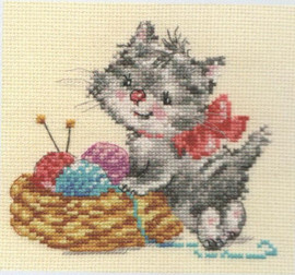Baby Needlewoman Cross Stitch Kit by Alisa