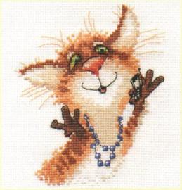 Hello-o Cross Stitch Kit by Alisa