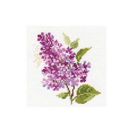 Branch of Lilac Cross Stitch Kit by Alisa