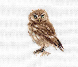 Owl Cross Stitch Kit by Alisa