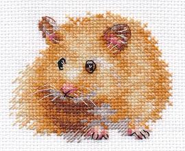Hamster Cross Stitch Kit by Alisa