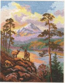 On the sunset Cross Stitch Kit by Alisa