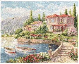 Morning on the Coast Cross Stitch Kit by Alisa