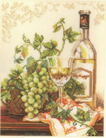Chardonnay Cross Stitch Kit by Alisa