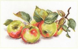 Apples Cross Stitch Kit by Alisa