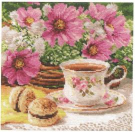 Morning Tea Cross Stitch Kit by Alisa